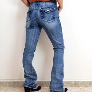 Seven 7 Boot Cut Jeans Size 6